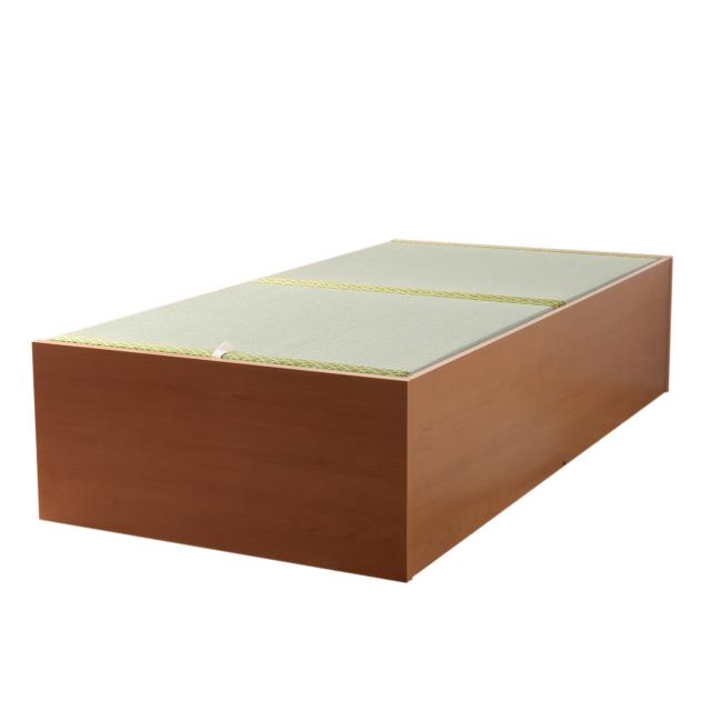 大量収納い草張りベッド | シングル セミダブル