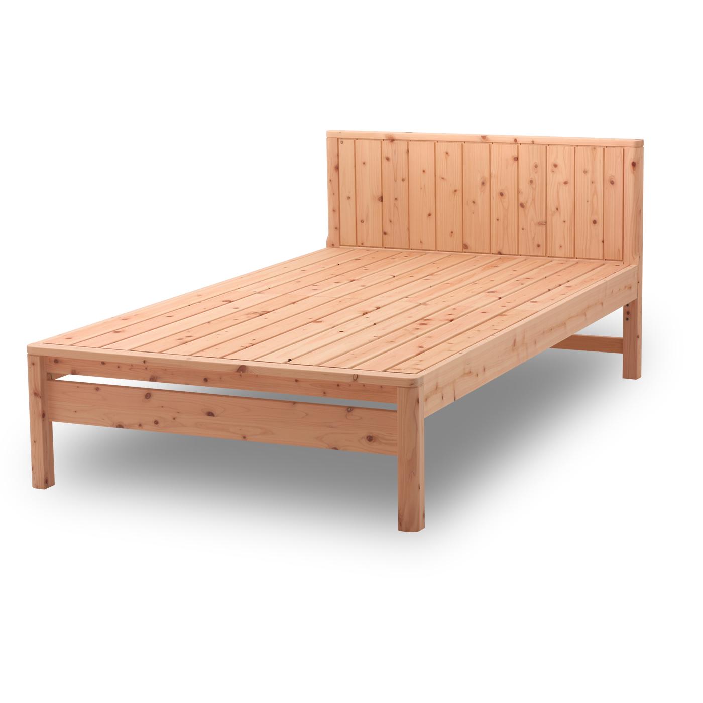 すのこベッド 国産 ひのきすのこベッド ぴったり並べて使えます | 島根県産高知四万十産ひのきを使いました