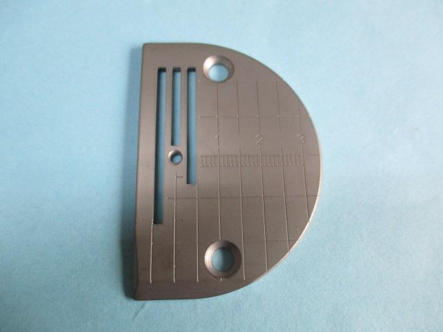 針板 「テフロンメッキコーティング」 (目盛り付8mm送り用) (三菱DY340等)