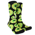 KEEP WATCH SOCKS (BLACK.LIME/EX142013S)