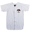 STAMP EM OUT PINSTRIPE BASEBALL JERSEY (White/EX161106)