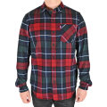 CHECK L/S BUTTON SHIRT (RED/EXPP1002A)