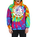 PEACE CREM KEEP WATCH HOODIE (RAINBOW TIE DYE/EXPP2000DTYE)