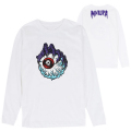 LAMOUR KEEP WATCH LONG SLEEVE TEE (WHITE/EXWD1001BWHT)