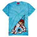 TIE DYE SOFT CREAM KEEP WATCH TEE (TURQUOISE/EXWD1002ATUR)