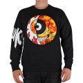 CYCO SPLIT KEEP WATCH CREWNECK SWEAT (BLACK/MAW160412M)