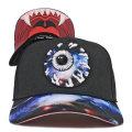 GALAXY KEEP WATCH TRUCKER SNAPBACK CAP (BLACK/MAW163212F)