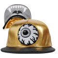 GOLDED KEEP WATCH SNAPBACK CAP (GOLD/MAW163218F)