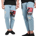 CASINO CARDS PATCHED DENIM  (BLUE/MSS170906)