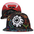 NEON ALL OVER KEEP WATCH SNAPBACK CAP (MULTI/MSS173203)