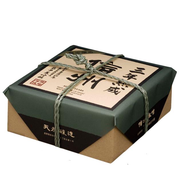 究極の味と香りの信州味噌【限定醸造三年熟成プレミアム】750g 限定醸造:石井味噌