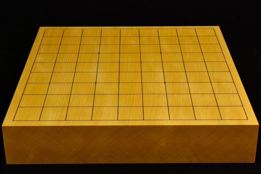 本榧卓上将棋盤 t5857