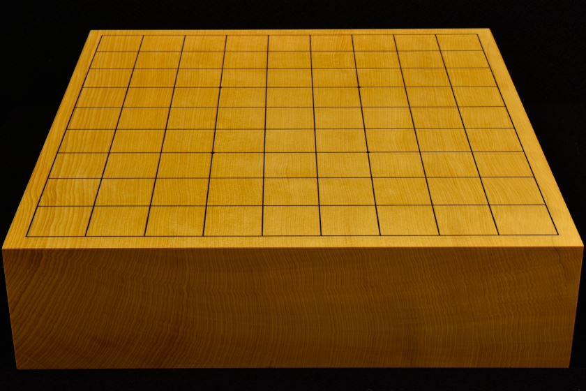 本榧卓上将棋盤 t5860