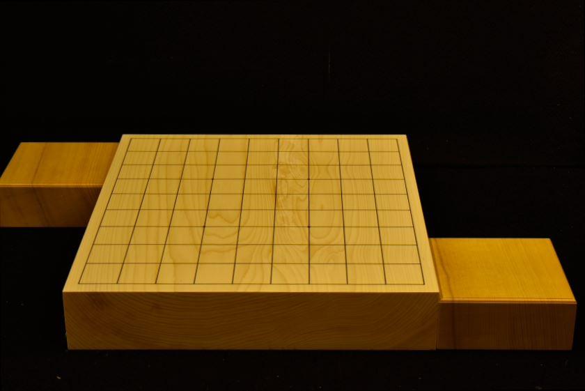 本榧卓上将棋盤 t5901