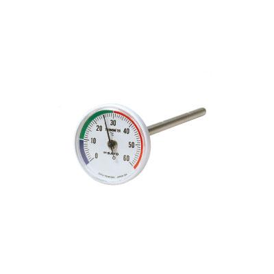 バイメタル地温計
