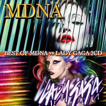 【SALE】【セール商品】Best Of MDNA vs GAGA 2CD [国内盤MIXCD]