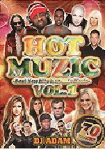 【SALE】【セール商品】DJ ADAM / HOT MUZIC VOL.1 -BEST NEW HITS MEGAMIX- [国内盤MIXDVD]