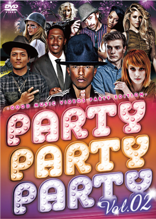 【SALE】【セール商品】V.A / GOOD MUSIC VIDEOS PARTY PARTY PARTY vol.2 [国内盤MIXDVD]