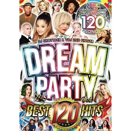 【SALE】【2枚組】DJ Shot1der / Dream Party Vol.1 [CD+DVD]