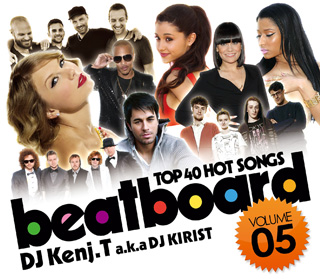 【SALE】【視聴あり】DJ Kenji.T a.k.a DJ KIRIST / Beatboard Vol,5 -TOP 40 HOT SONGS- [国内盤MIXCD]