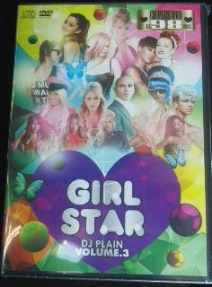 【SALE】【2枚組】DJ PLAIN / GIRL STAR VOL.3 [DVD+CD]