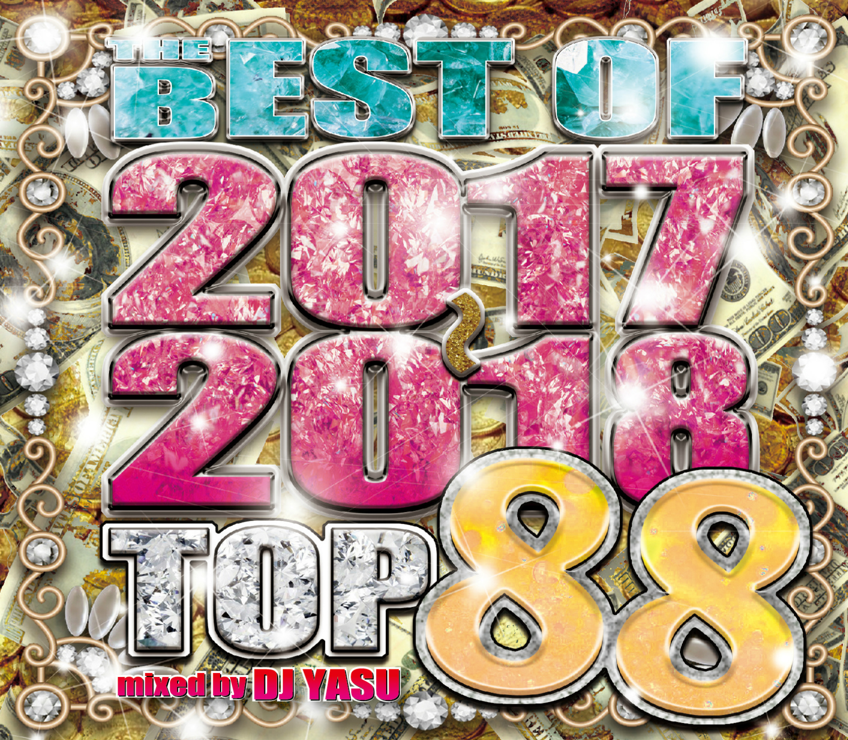 【1枚組】 THE BEST OF 2017-2018 TOP 88 / DJ YASU 【[国内盤MIX CD】