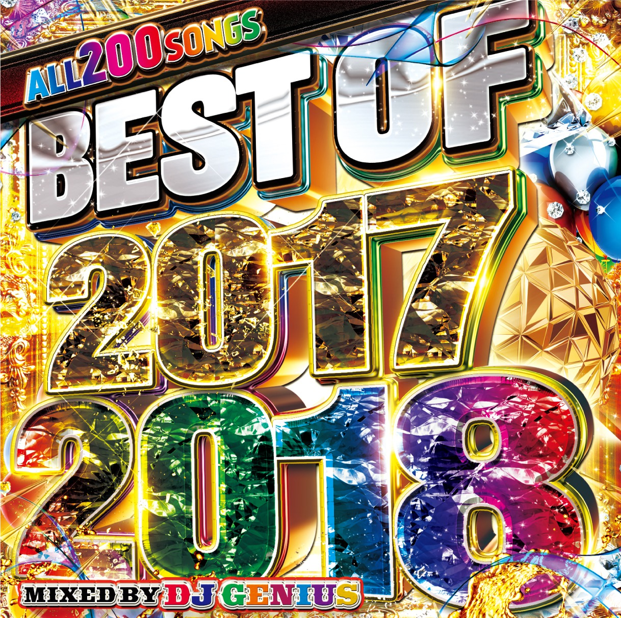 【2枚組】 BEST OF 2017-2018 / DJ GENIUS  【[輸入盤MIX CD】