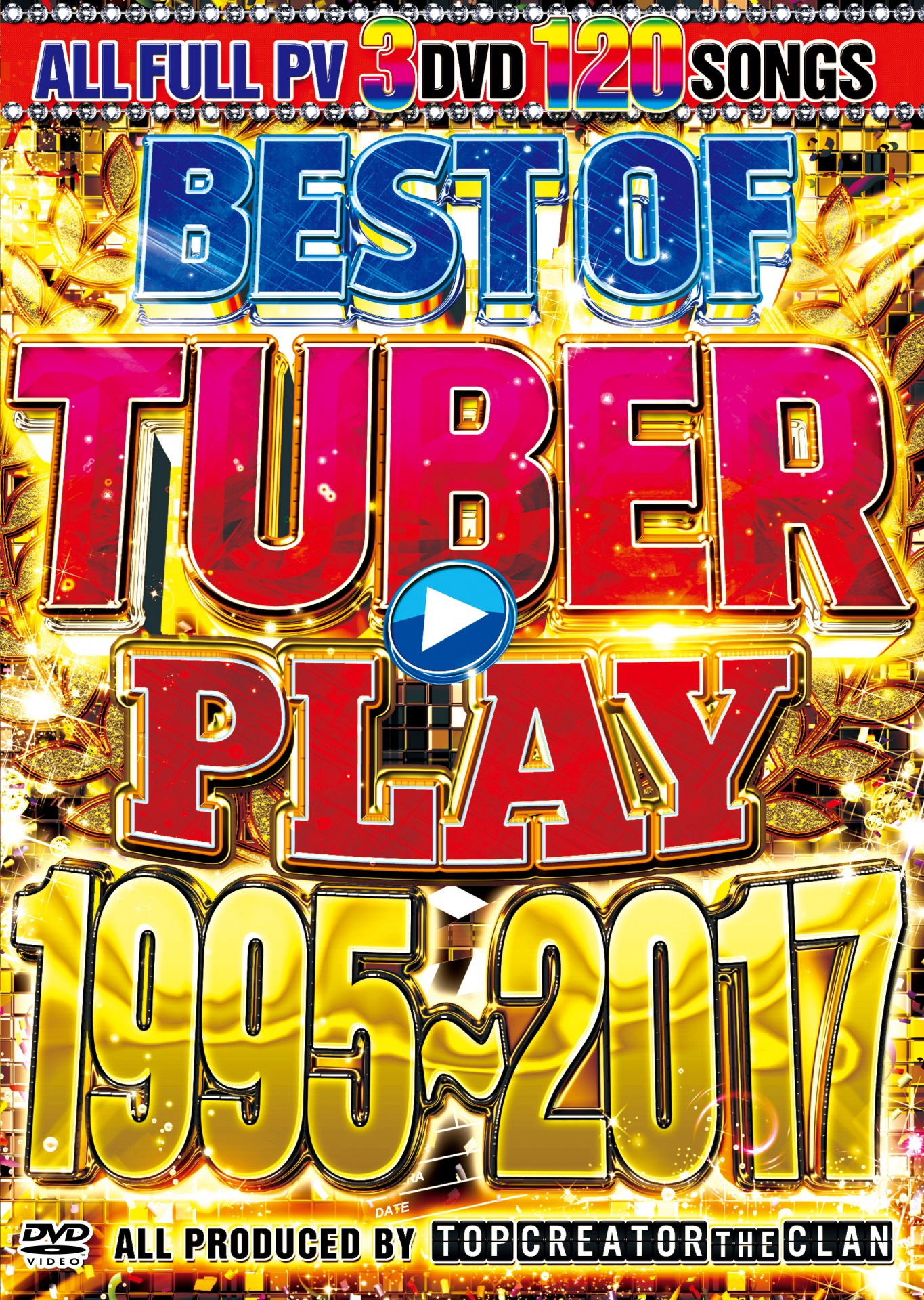【3枚組】 BEST OF TUBER PLAYSONG 1995-2017 /  TOP CREATOR THE CLAN 【[国内盤MIX DVD】