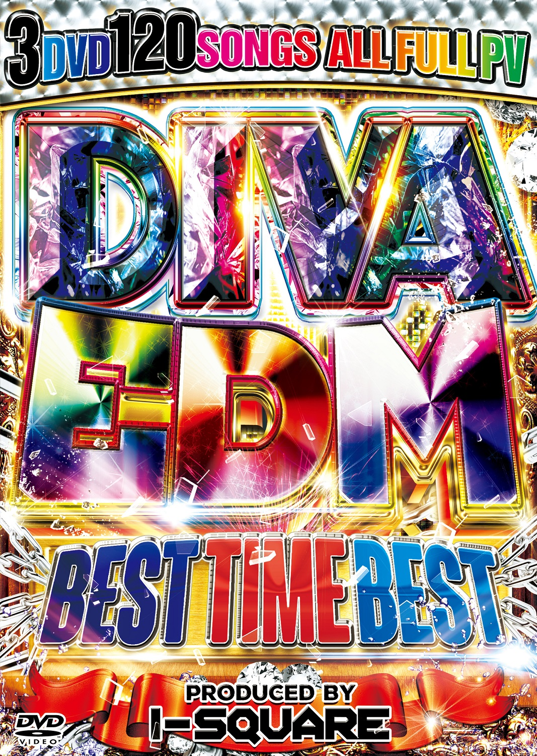 【3組】 DIVA EDM BEST TIME BEST / I-SQUARE  【[国内盤MIX DVD】
