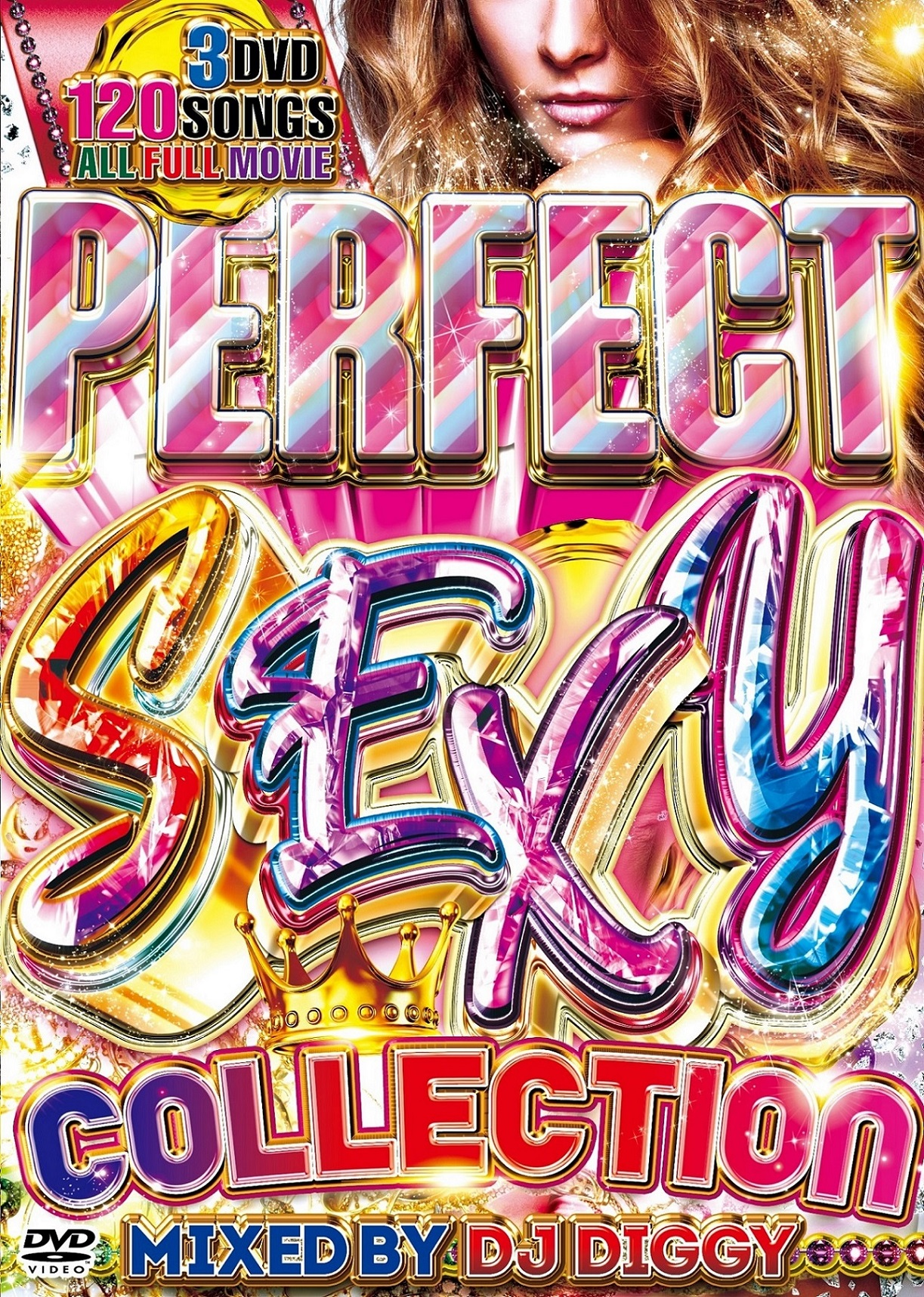 【3組】 PERFECT SEXY COLLECTION / DJ DIGGY  【[国内盤MIX DVD】
