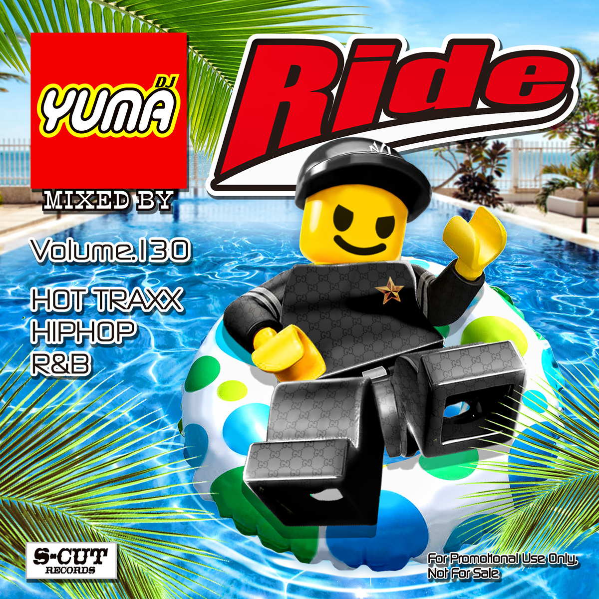 【1枚組】 Ride Vol.130 / DJ Yuma 【[国内盤MIX CD】