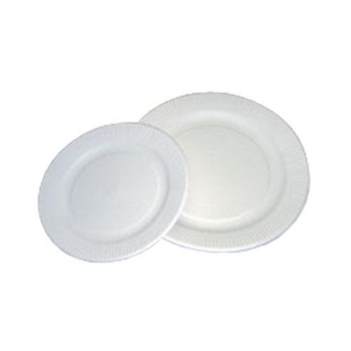 紙皿【ホワイト】18cm 2400枚
