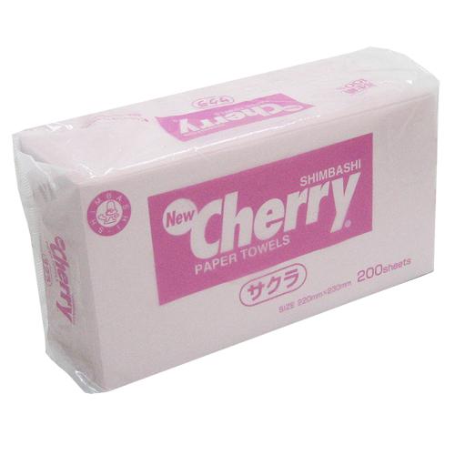 ペーパータオル ニューチェリーさくら(ピンク) 30冊