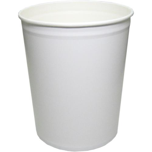 紙容器CO-10L 白無地 100個※大袋入り(アイスカップ)