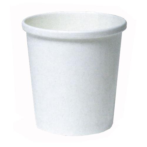 紙容器SI-500T 白無地 800個※大袋入り(アイスカップ)