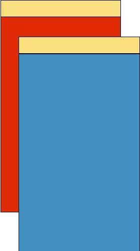 デリバリーパック(L-8)色付2000枚 (135x250+10mm)