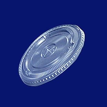 ★PET FLAT 12オンス 【PET】用LID×穴 100枚