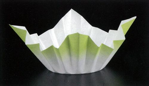色和紙鍋 緑色1500枚
