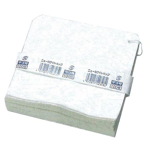ホワイトパック 平3号 163×155mm 8000枚