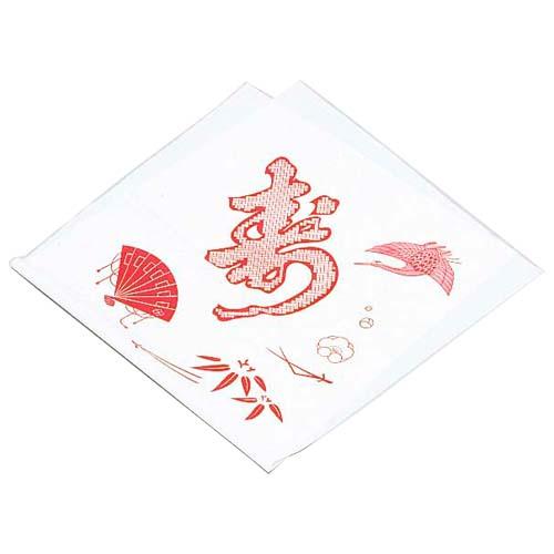 ポリ風呂敷(No.90 赤寿) 300枚