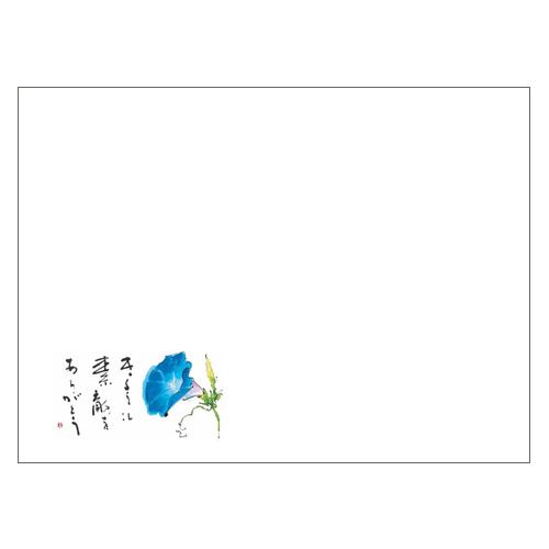 ランチョンマットV963(朝顔)1000枚