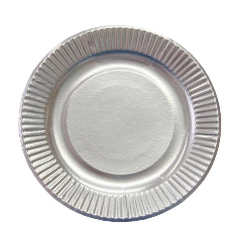 紙皿シルバープレート8号  1200枚