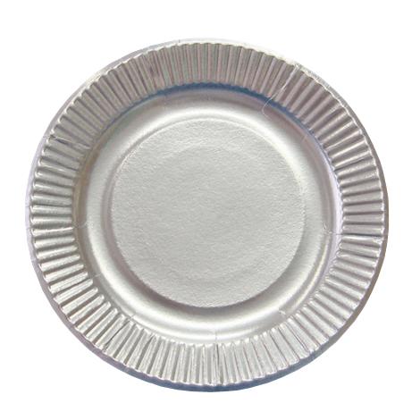 紙皿シルバープレート9号  1200枚