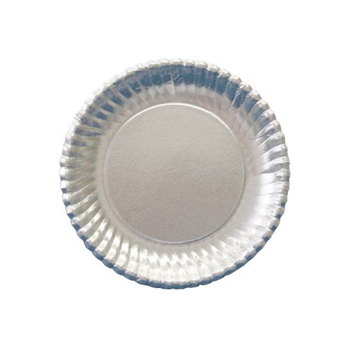 紙皿シルバープレート(菊型)6号 1500枚