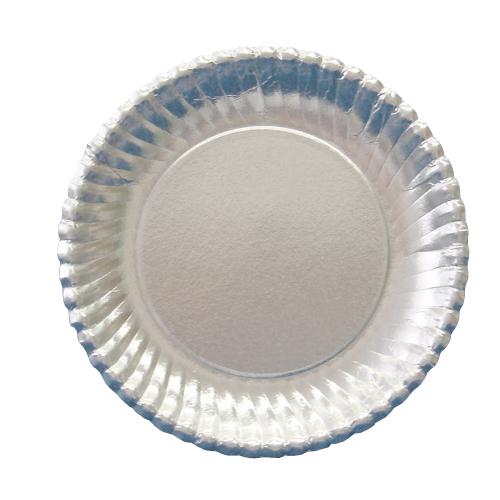 紙皿シルバープレート(菊型)7号 1500枚