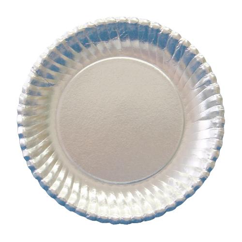 紙皿シルバープレート(菊型)8号 800枚