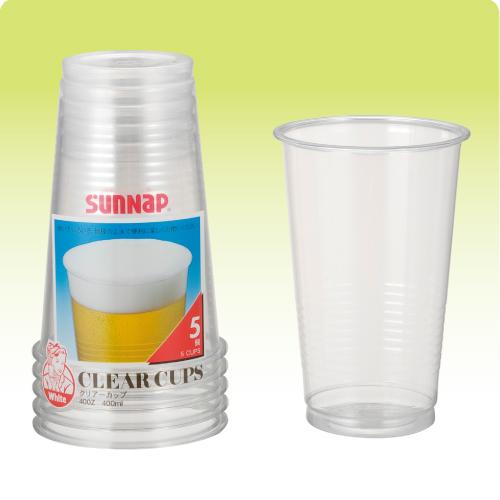 ★クリアーカップ(LL) 5個
