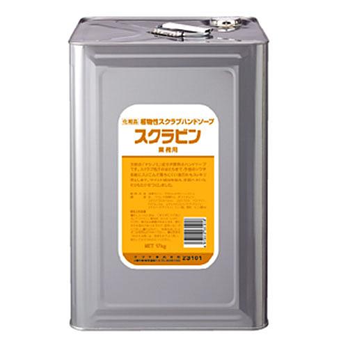 サラヤ スクラビン17kg缶