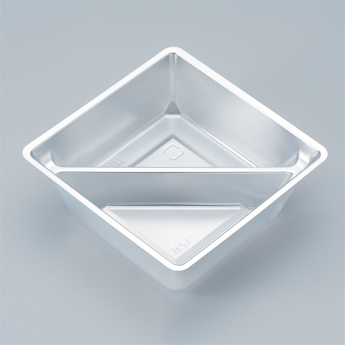 小鉢シリーズ 小鉢65仕切有 銀 2000個