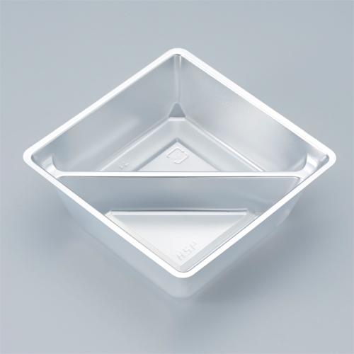 小鉢シリーズ 小鉢70仕切有 銀 2000個
